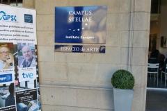 Evento y entrada al Campus Stellae