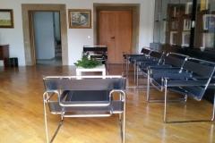 Sala de reuniones. Mobiliario adaptable..