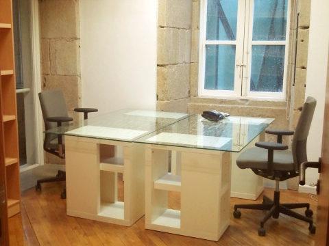 Ejemplo de despacho privado para dos personas.