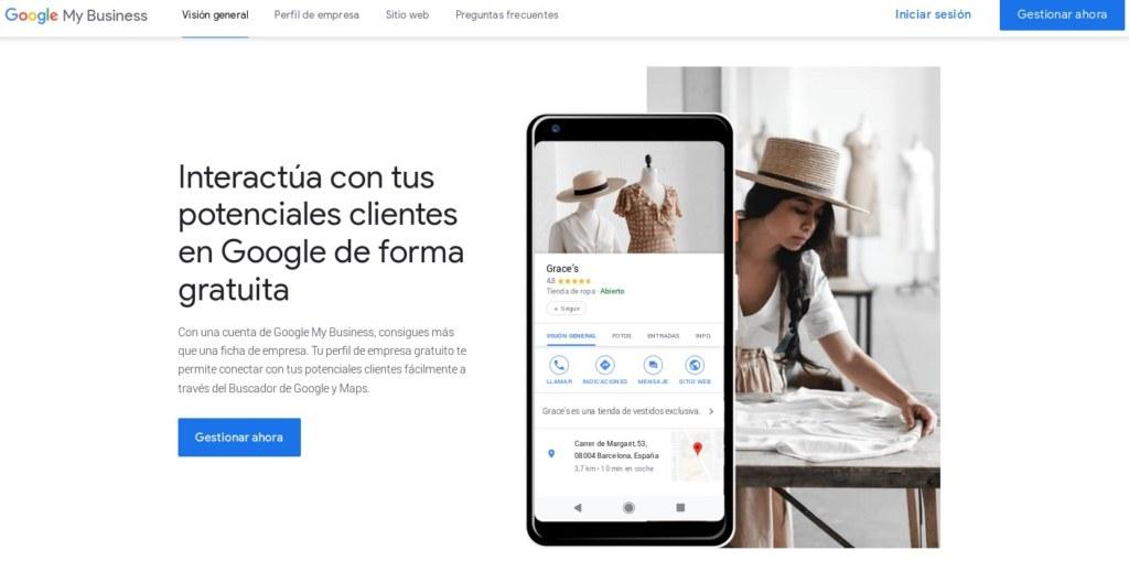 Google Mi Negocio Alta de Usuario - Coworking Santiago