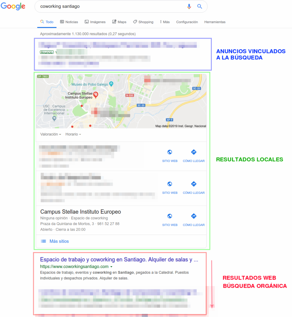 coworking santiago - resultados de búsqueda - Google Mi Negocio
