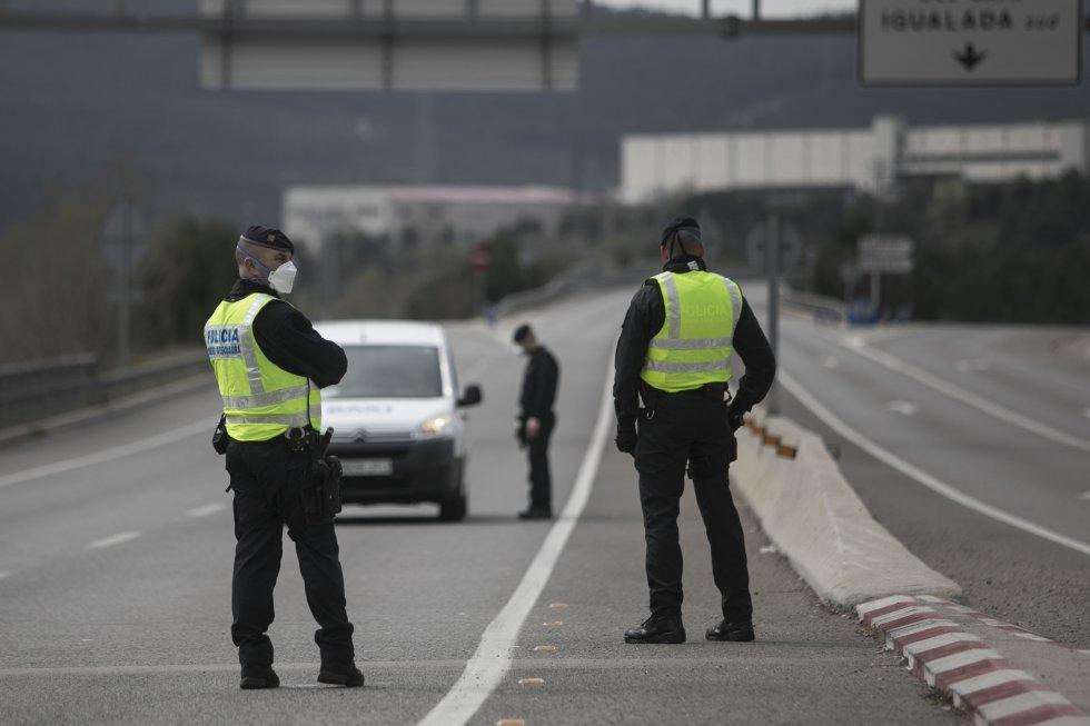 Estado de Alarma - Permiso para ir a trabajar - Control policial